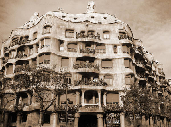 Photograph - Gaudi's Design by Donna Corless