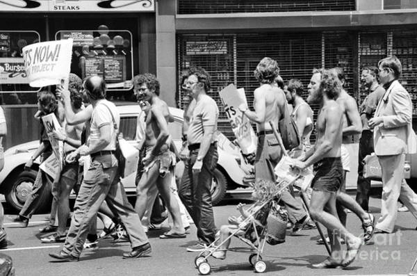 Photograph - Gay Rights March, 1976 by Granger
