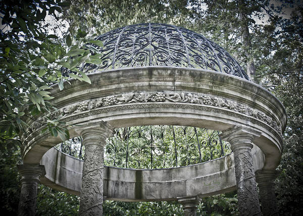 Longwood Gardens Photograph - Gazebo At Longwood Gardens by Trish Tritz