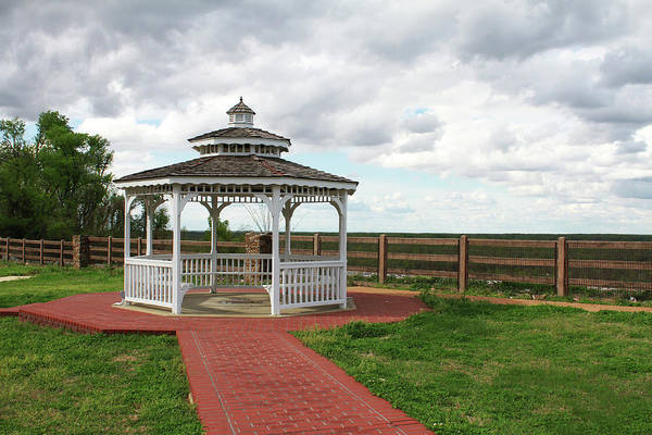 Photograph - Gazebo Memorial  by Bonnie Willis