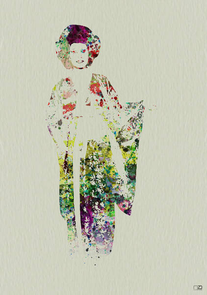 Japan Wall Art - Painting - Geisha by Naxart Studio