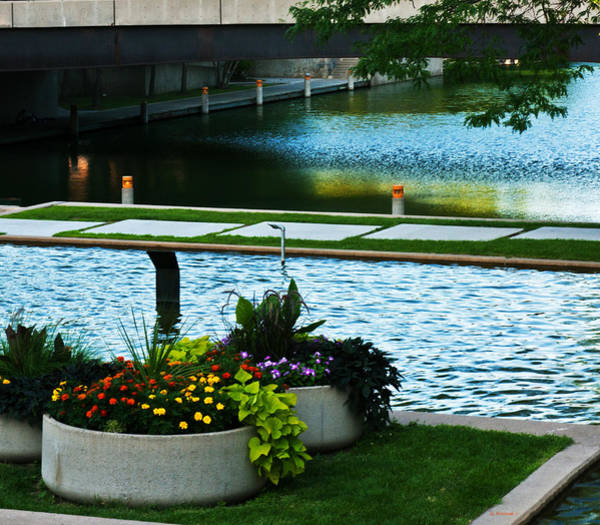 Photograph - Gene Leahy Mall  by Edward Peterson