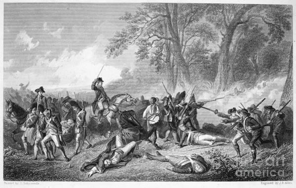 1755 Photograph - General Braddock: Death by Granger