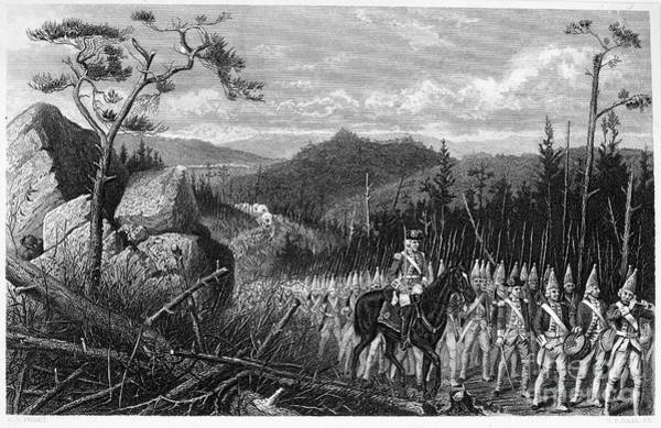1755 Photograph - General Braddocks March by Granger