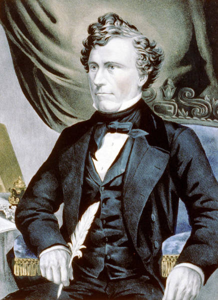 Wall Art - Photograph - General Franklin Pierce - Fourteenth President Of The United States by International  Images