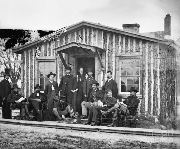 Photograph - General Grants Staff by Granger