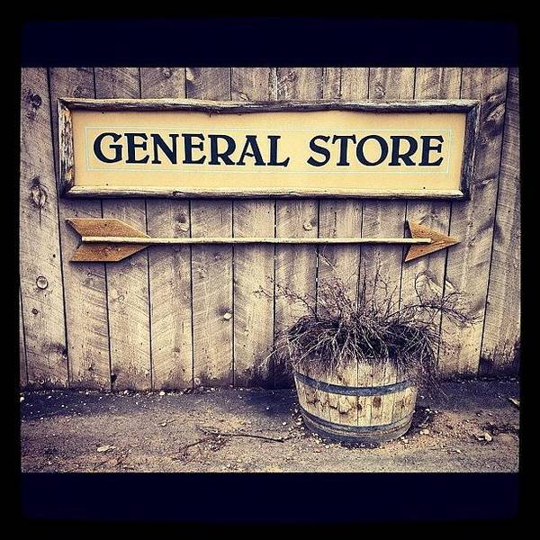 Handmade Wall Art - Photograph - General Store by Isabel Poulin