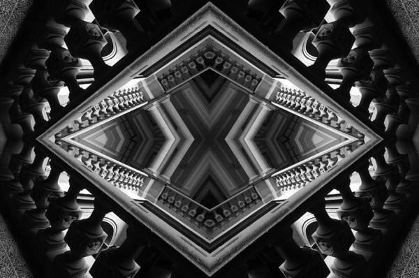 Visual Language Photograph - Geometric Play by Jesus Nicolas Castanon