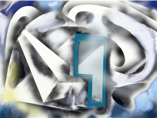 Painting - Geometriclly Sound by Eugene Foltuz