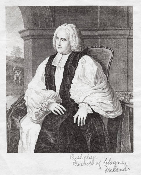 Subjective Wall Art - Photograph - George Berkeley, Irish Philosopher by Humanities & Social Sciences Librarynew York Public Library