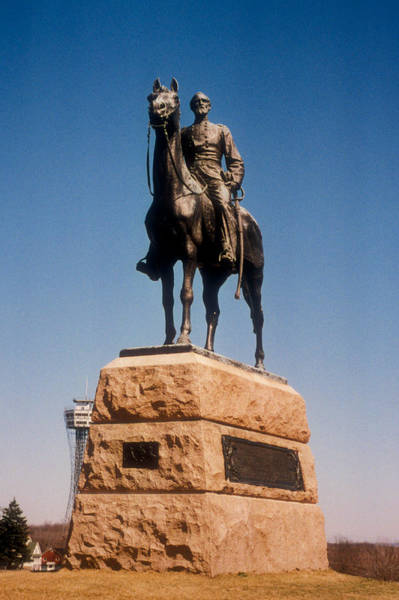 Photograph - George G. Meade Monument by Mark Dodd