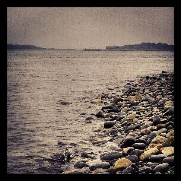 Run Photograph - Georges Island, Seen Across Nantasket by Hit And Run History