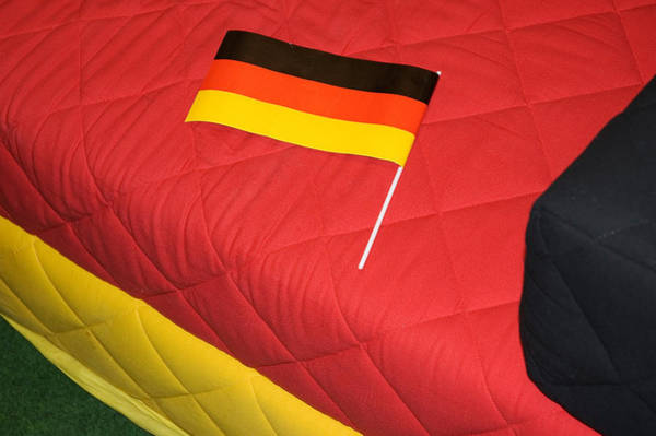 Photograph - German Flag And Colors by Matthias Hauser