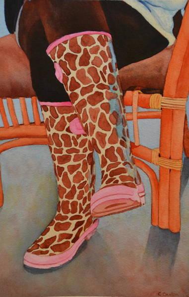 Gerry Afe Art Print by Cynthia Sexton