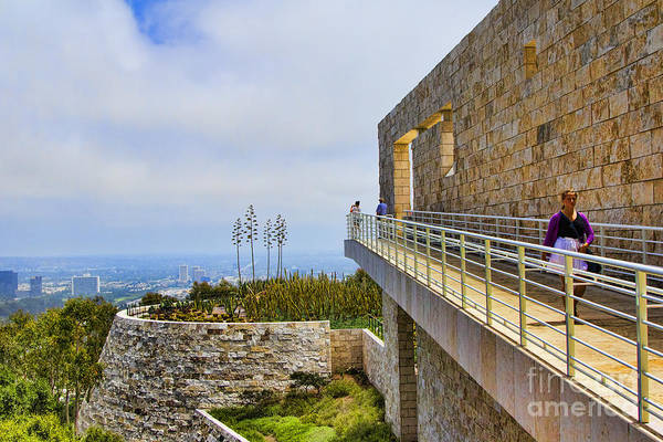 J Paul Getty Photograph - Getty Museum Iv by Chuck Kuhn