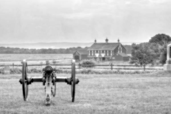 Cemetery Ridge Photograph - Gettysburg Field Of Fire by Randy Steele