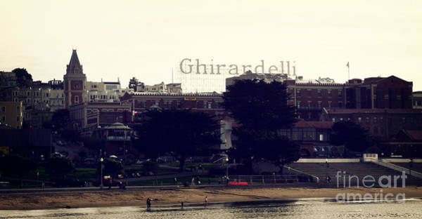 San Francisco Bay Area Photograph - Ghirardelli Square by Linda Woods
