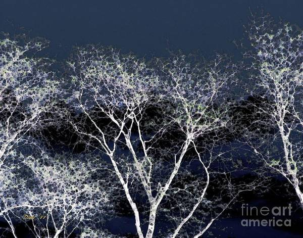 Digital Art - Ghost Trees by Dale   Ford