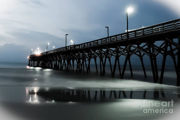 Wall Art - Photograph - Ghostly Pier by Matthew Trudeau