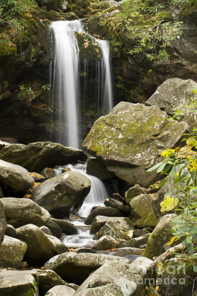 Wall Art - Photograph - Ghrotto Falls In Great Smokie Mountain National Park by Dustin K Ryan