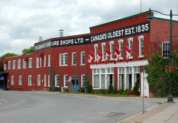 Napanee Photograph - Gibbard Furniture Shops by Colleen English