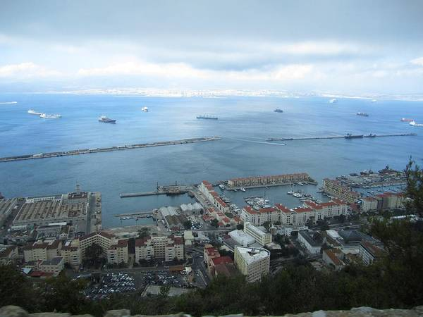 Photograph - Gibraltar Great Harbor View Uk  by John Shiron