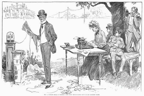 Photograph - Gibson: Businessman, 1903 by Granger