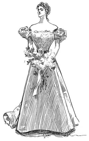 Photograph - Gibson: Gibson Girl, 1897 by Granger
