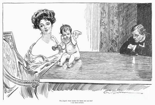Photograph - Gibson: Gibson Girl, 1901 by Granger