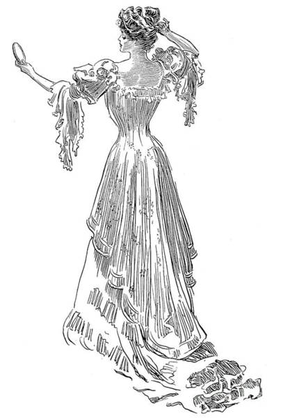Photograph - Gibson: Gibson Girl, 1903 by Granger