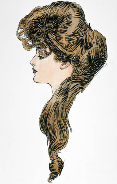 Photograph - Gibson Girl, 1903 by Granger