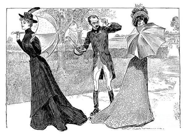 Photograph - Gibson: Predicament, 1899 by Granger