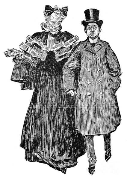 Photograph - Gibson: Quarrel, 1906 by Granger