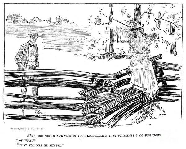 Photograph - Gibson: Romance, 1901 by Granger