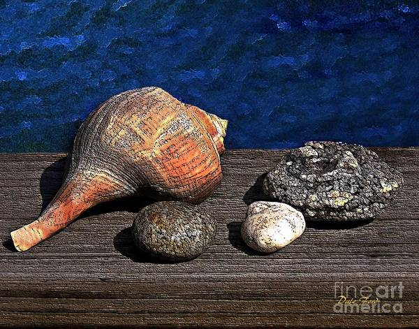 Digital Art - Gifts From The Sea by Dale   Ford