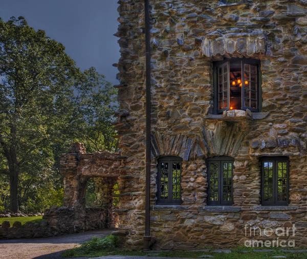 Photograph - Gillette Castle Exterior Hdr by Susan Candelario