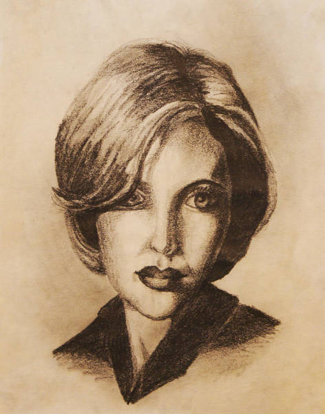 Coolidge Drawing - Gillian by Sara Coolidge