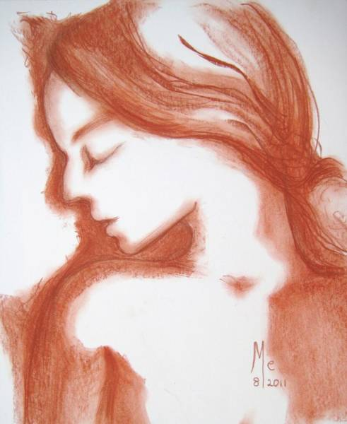 Drawing - Ginger by Marat Essex