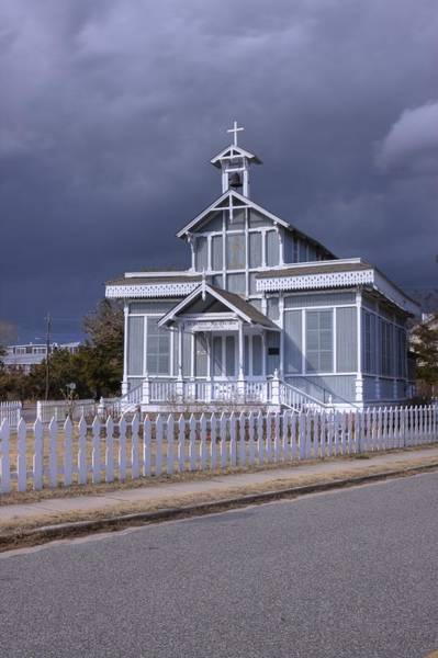 Photograph - Gingerbread Church by Tom Singleton
