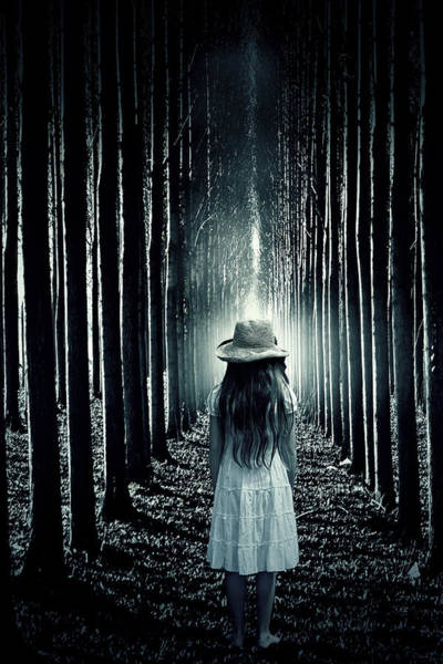 Wall Art - Photograph - Girl In The Forest by Joana Kruse