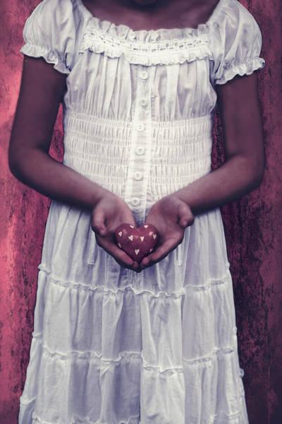 Wall Art - Photograph - Girl With A Heart by Joana Kruse