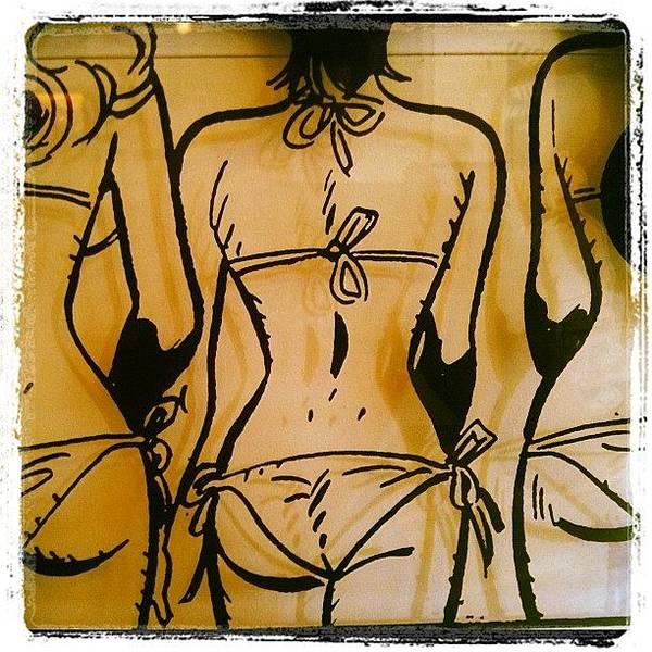 Comics Wall Art - Photograph - Girls Abd Bikinis?! by Roger Del Sol