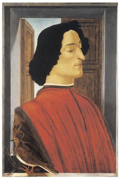 Botticelli Wall Art - Painting - Giuliano De'medici by Sandro Botticelli