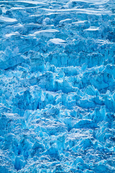 Photograph - Glacial Layers by Adam Pender