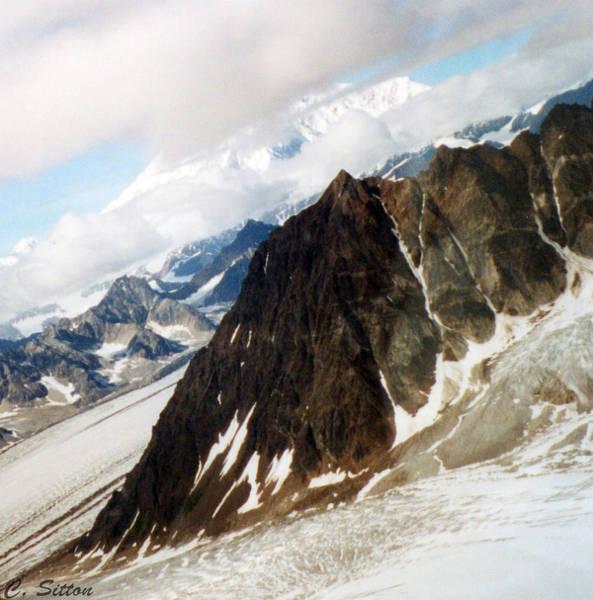 Photograph - Glacier Flight 2 by C Sitton