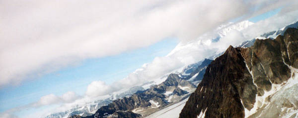 Photograph - Glacier Flight by C Sitton