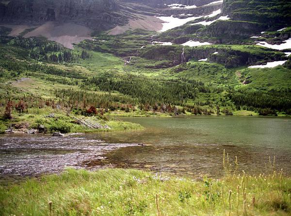 Photograph - Glacier National Park by Lee Santa