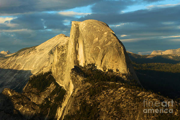 Photograph - Glacier Point Sunset by Adam Jewell