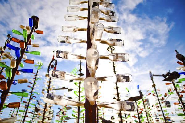 Idealistic Wall Art - Photograph - Glass Bottle Sculpture by Eddy Joaquim