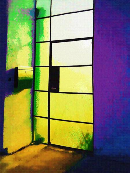 Wall Art - Photograph - Glass Door Number 2 by Eve Paludan